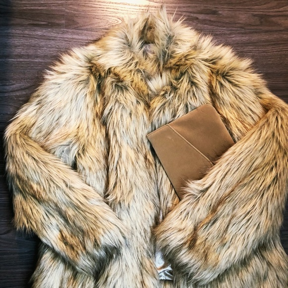 ASOS Curve Jackets & Blazers - ASOS Curve Jacket in Vintage Faux Fur
